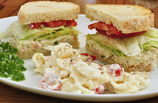 Tuna Salad Sandwich - Image Credit: https://www.flickr.com/photos/jeffreyww/5958578436/